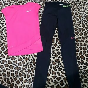 Nike workout set